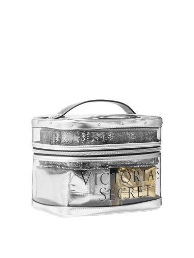 Set-de-Cosmetiqueras-4-En-1-Dorado-Plateado-Victoria-s-Secret