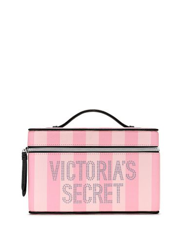 Cosmetiquera-Neceser-Pink-Stripes-Victoria-s-Secret