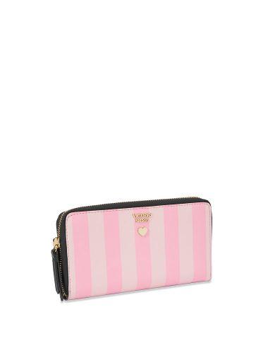Cartera-Pink-Stripe-Victoria-s-Secret