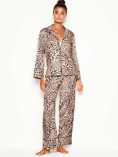 Pijama-Pantalon-de-Saten-Victoria-s-Secret
