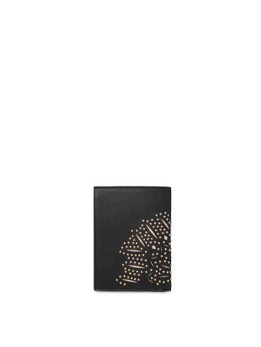 Porta-Pasaporte-Floral-cortado-con-Laser-Negro-Victoria-s-Secret