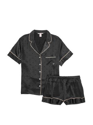 Set-de-Pijama-de-Short-de-Saten-Victoria-s-Secret
