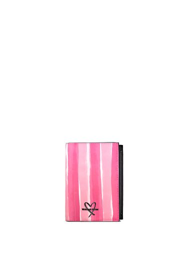 Porta-Pasaporte-Pink-Stripes-Victoria-s-Secret
