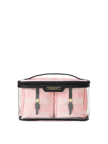 Cosmetiquera-Train-Case-Rayas-Iconicas-Victoria-s-Secret