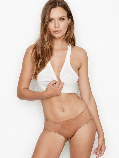 Panty-Cheeky-con-Micro-Encaje-Victoria-s-Secret