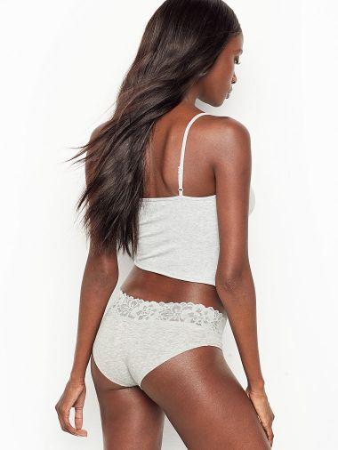 Panty-Hiphugger-de-Algodon-Stretch-con-Encaje-en-cintura.-Victoria-s-Secret
