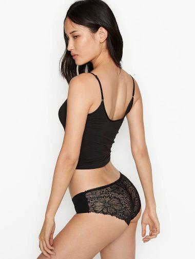 Panty-Hiphugger-No-Show-con-Encaje-Floral-en-Espalda-Victoria-s-Secret